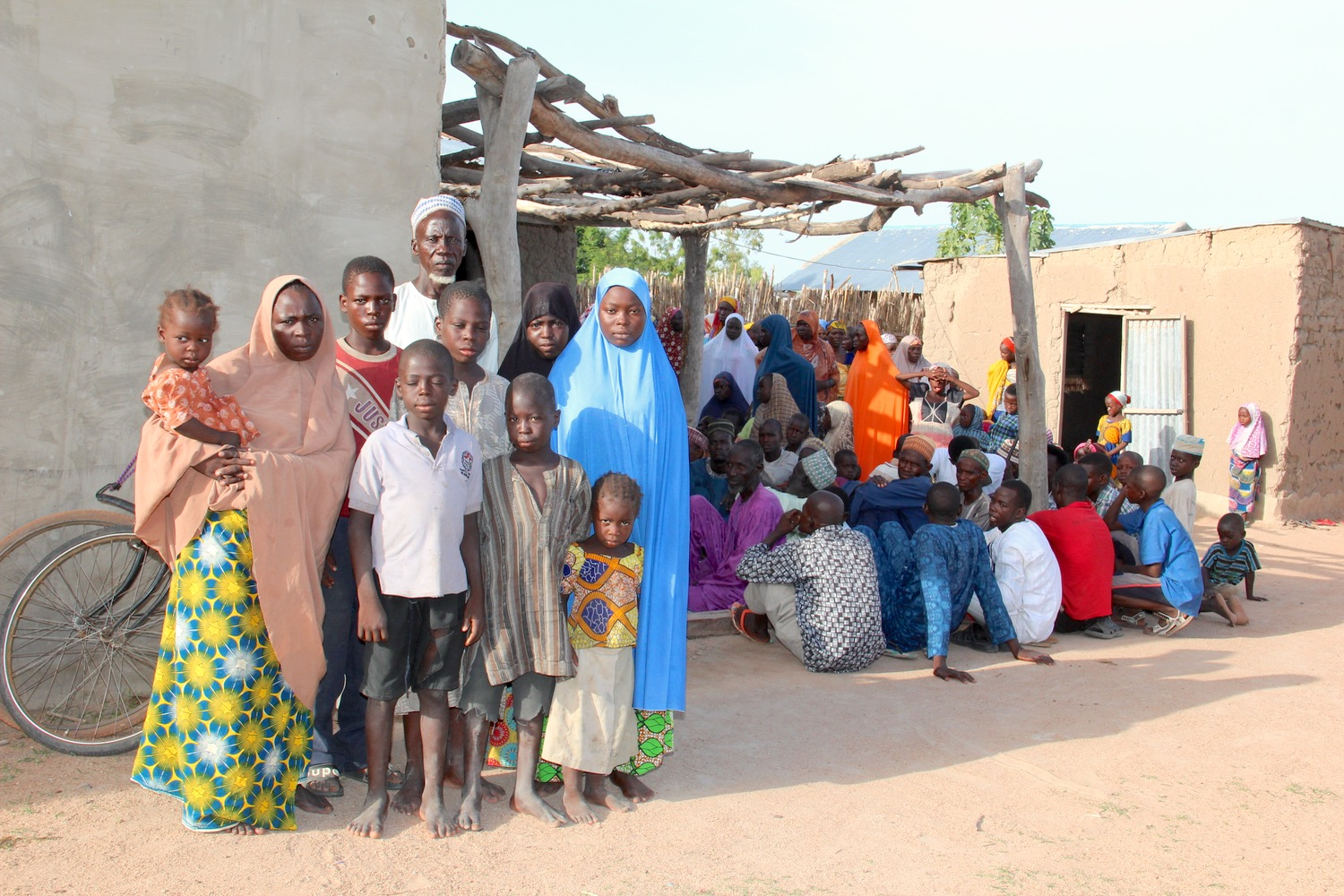 Finding shelter with fellow Nigerians